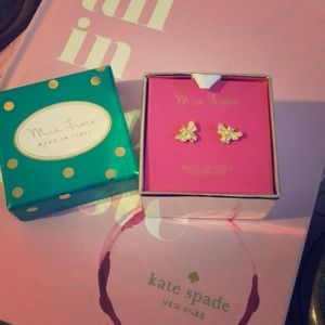 New in box Mia Fiore made in Italy earrings
